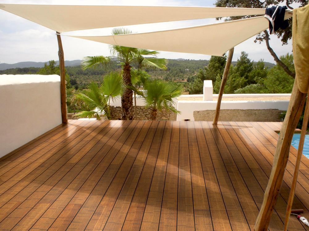 185x120mm Bambus Terrassendiele