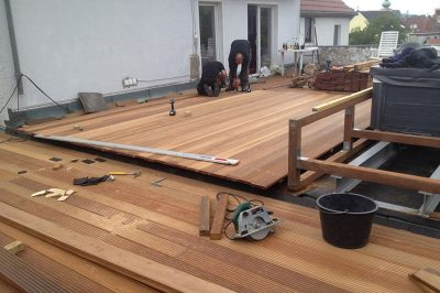 Holzterrasse bauen