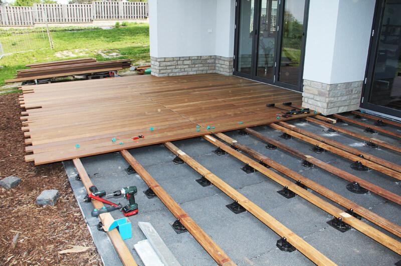 unterkonstruktion terrasse