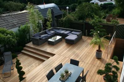 die vor und nachteile von holzterrassen holzwelten. Black Bedroom Furniture Sets. Home Design Ideas