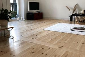 Dielenboden aus Echtholz