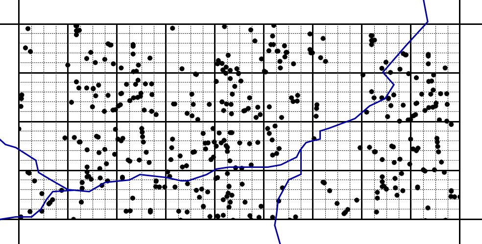 Um das Waldstück zu erschließen, wird zunächst eine Wald-Inventur durchgeführt. Dabei werden die einzelnen Bäume und ihr Standort per Geotagging mit GPS-Koordination genau erfasst. Anschließend werden die anzulegenden Transportrouten im Wald geplant.