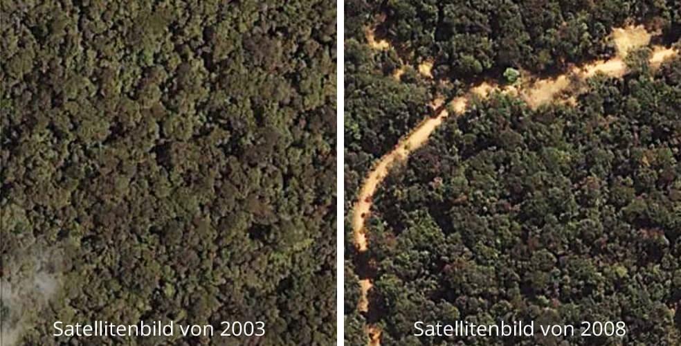 vergleich satellitenbild