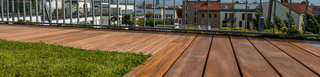 Terrassendielen und Holzterrassen
