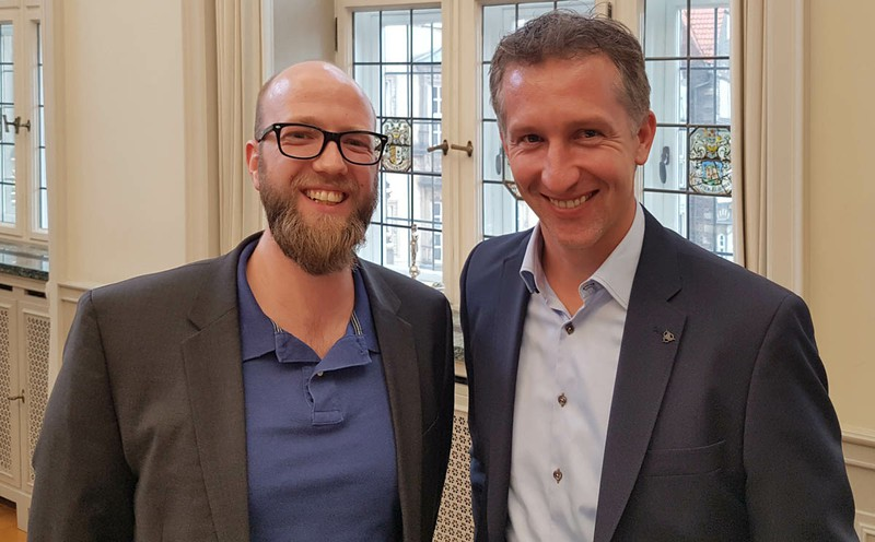 Preisverleihung der Stiftungen Verein Bremer Holzhändler e.V. und Dreyer & Hillmann Stiftung