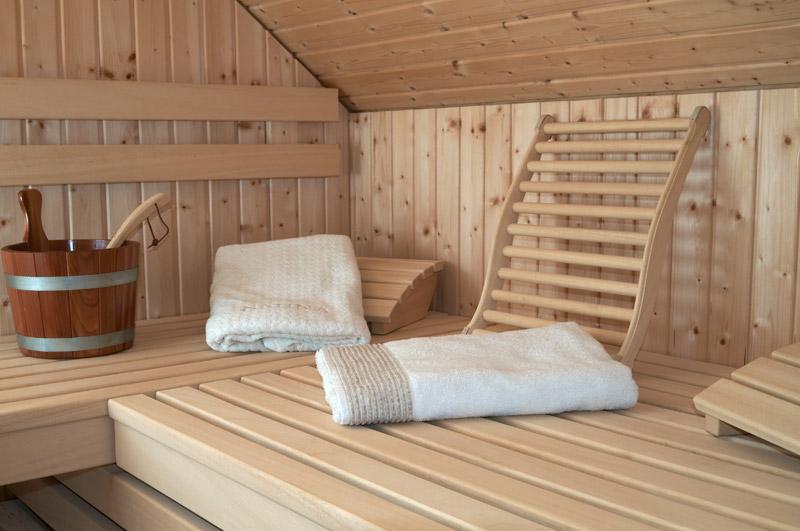 Sauna Banklatten aus Abachi