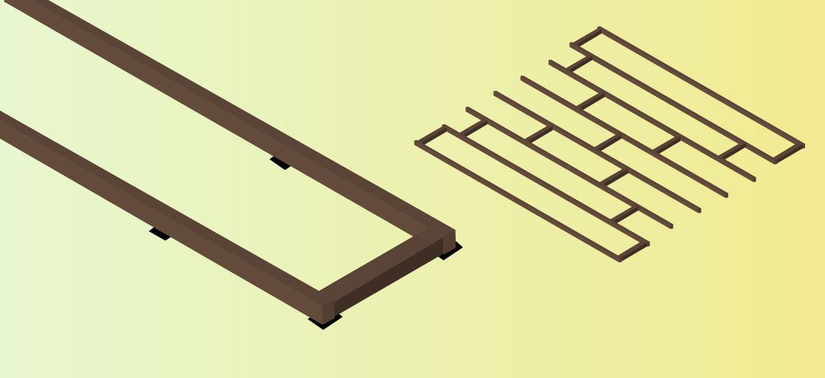 Dachterrasse Verlegung