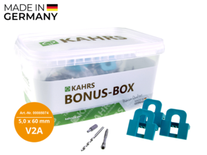 KAHRS Terrassenschrauben Professional Bonusbox