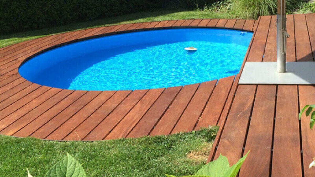 Poolumrandungen aus Holz und WPC   HOLZwelten