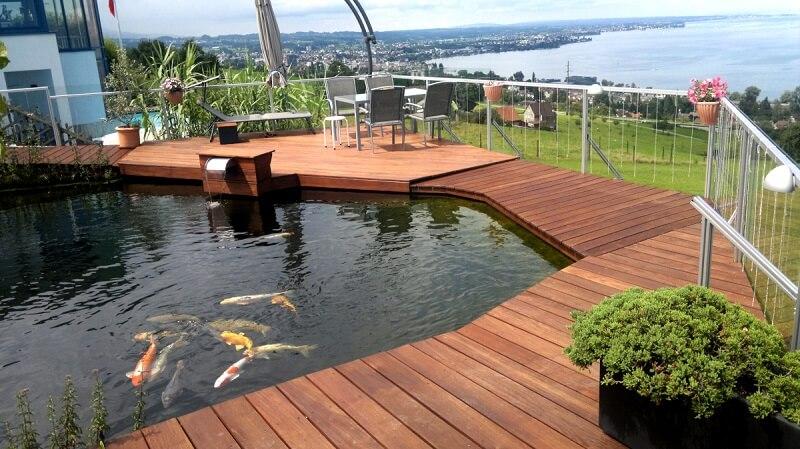 Ipe Holz Symbolfoto Terrassendielen