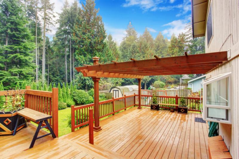 terrassengestaltung terrassenueberdachung