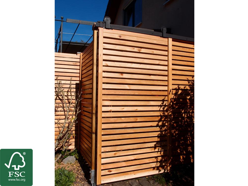 Holzfassadenverkleidung