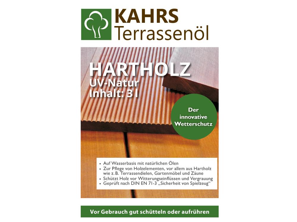 Terrassen-Öl Hartholz