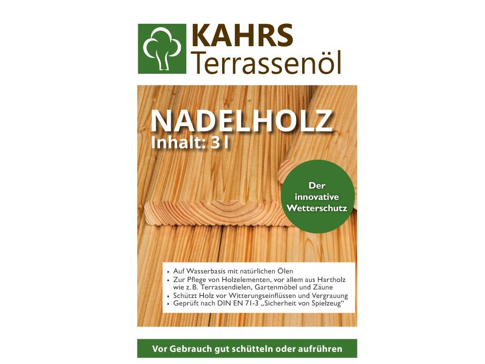 Kahrs Terrassenöl Nadelholz