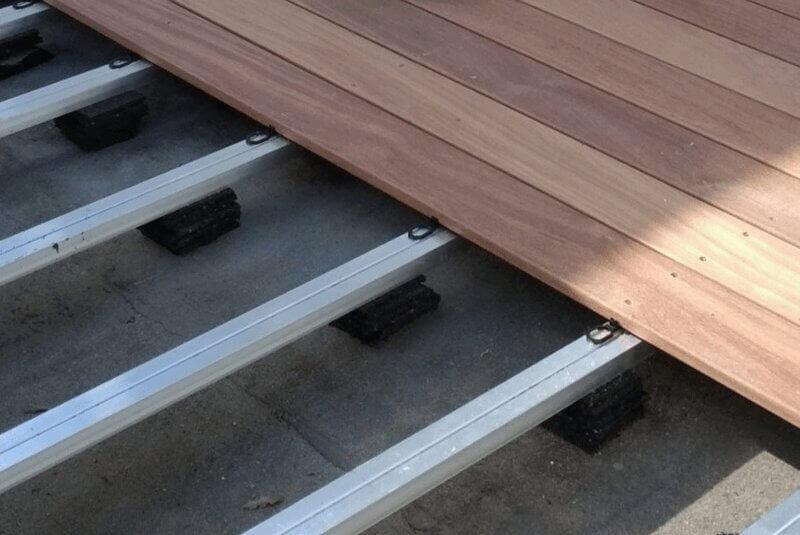 Terrassenunterkonstruktion