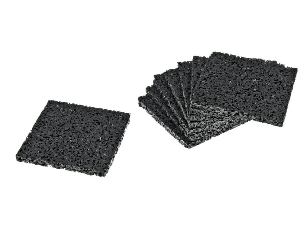 Gummigranulat-Pads