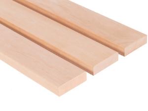 Saunabanklatten aus Erlenholz