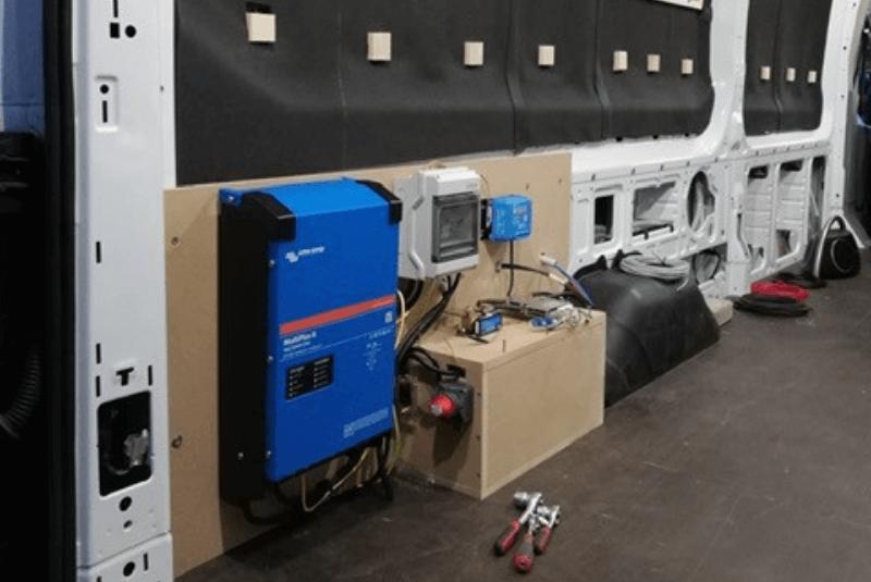Die Stromversorgung im DIY-Camper