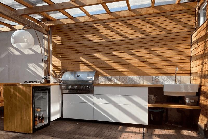 Terrassen-Küche